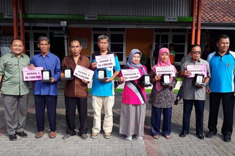 Pemenang Lomba Kampung Organik dan Bank Sampah Tingkat Kota Magelang Tahun 2019