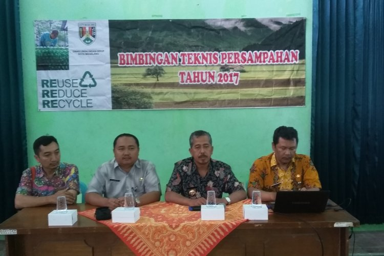 Bimbingan Teknis Persampahan di Kelurahan Jurangombo Utara