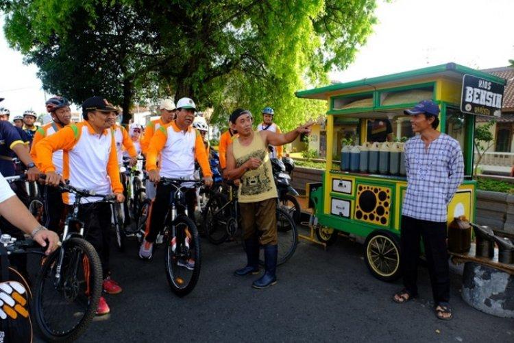 Gowes Bersama Walikota Magelang