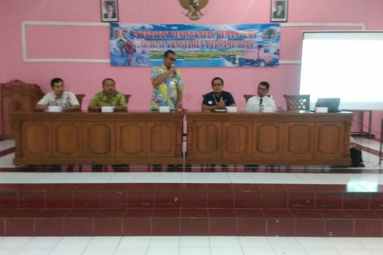 Sosialisasi BPJS Bagi Tenaga Kebersihan Kota Magelang