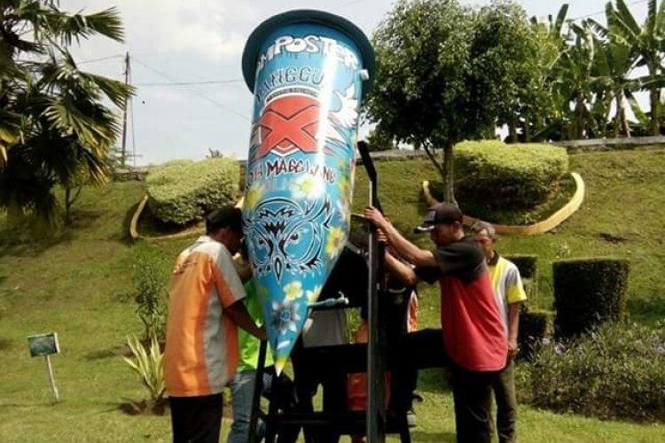 Komposter Komposter di Taman Kota Magelang